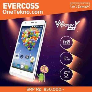 Harga dan Spek Evercoss A75 Winner Y Max Terbaru