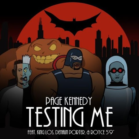 Page Kennedy, Royce Da 5'9, King Los & Mr. Porter - Testing Me | @pagekennedy
