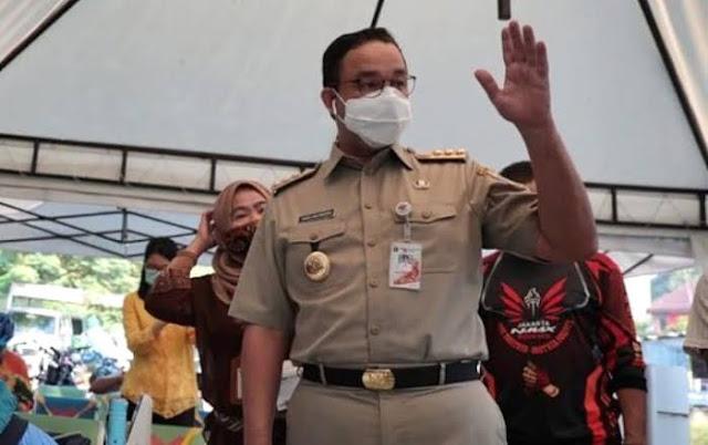 Beda dengan Jokowi, Anies Baswedan Lebih Utamakan Membuka Masjid ketimbang Mall