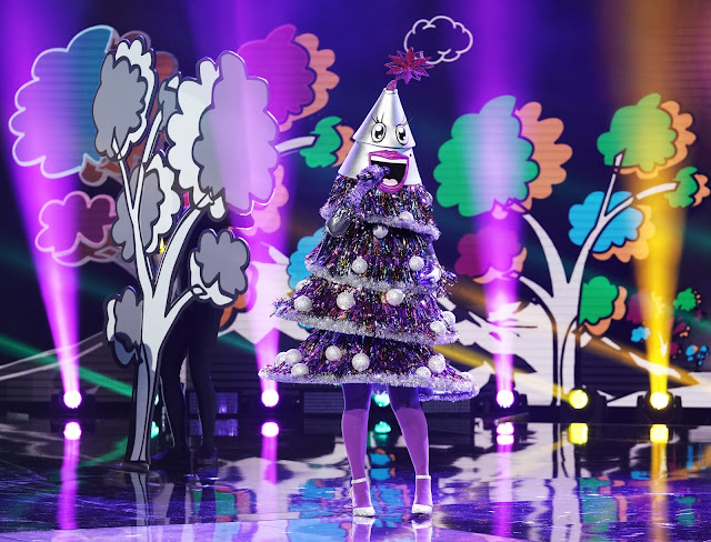 'THE MASKED SINGER': TREE UNMASKED! FIND OUT WHICH CELEBRITY WENT HOME