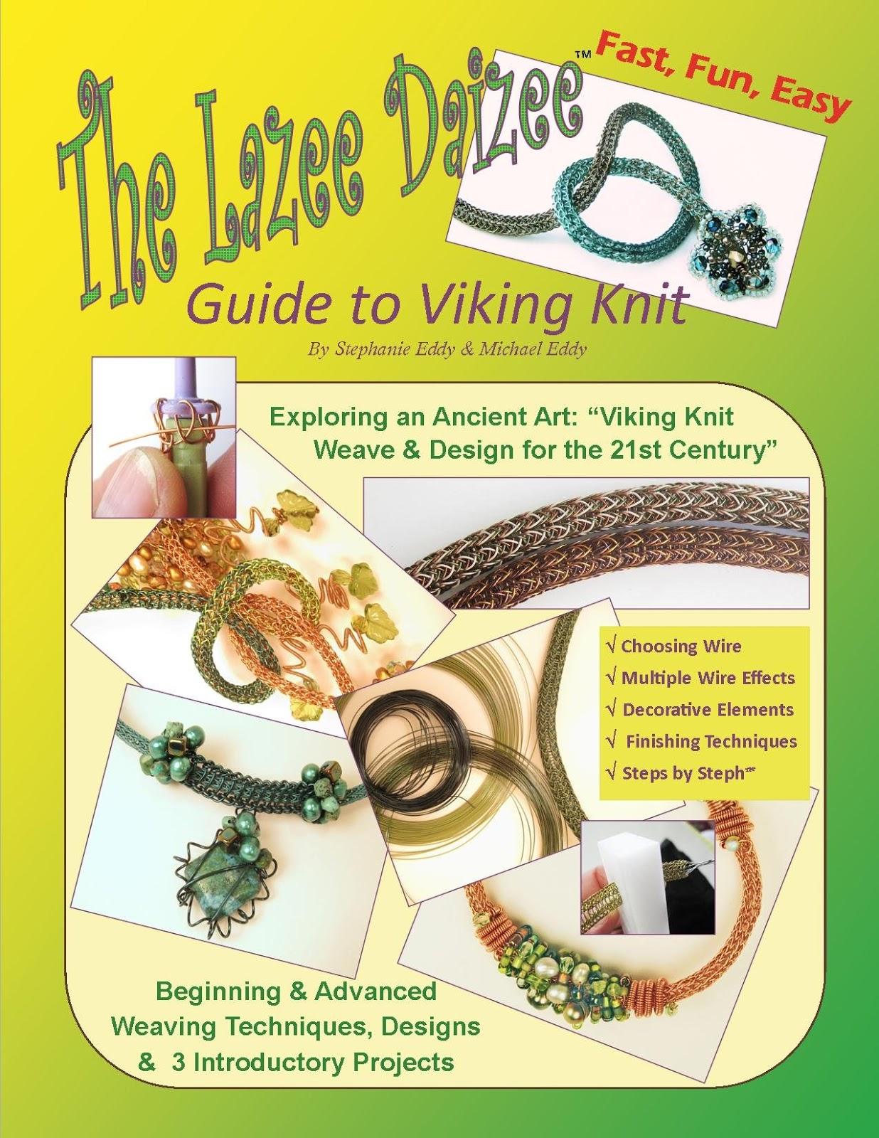 "Lazee Daizee Viking Knit 1//4/"" and 1//2/"" Viking Knit Tools /& End Caps"