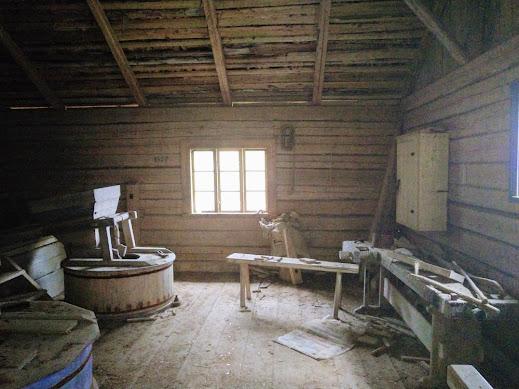 Carpenter shed