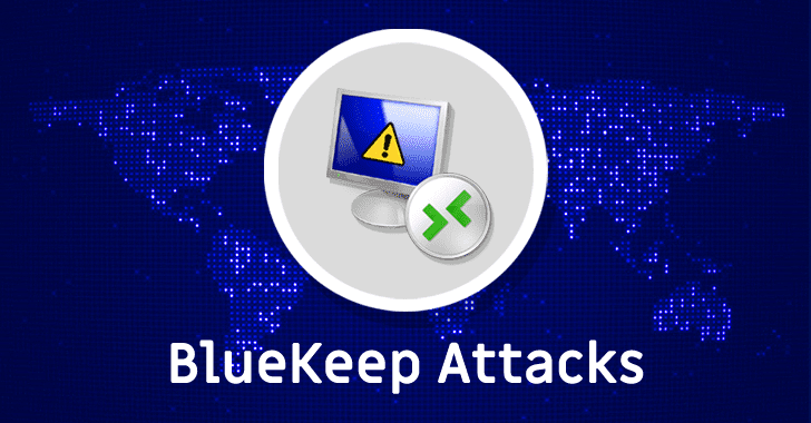 First Cyber Attack 'Mass Exploiting' BlueKeep RDP Flaw Spotted in the Wild