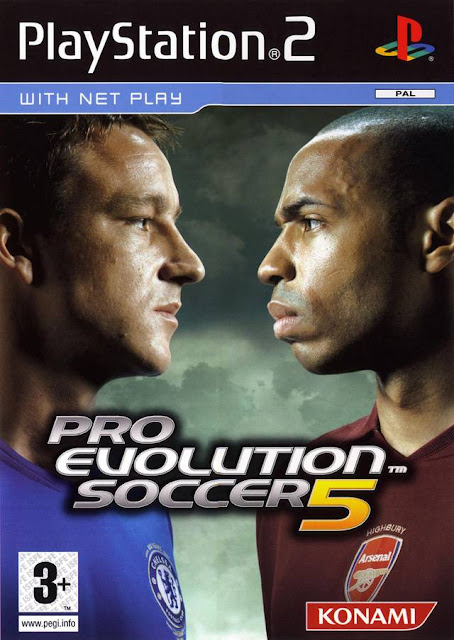 Pro Evolution Soccer 5 ps2 iso rom download