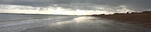 eastney beach towards south parade pier southsea
