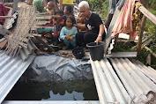 Relawan Temukan Korban Gempa Di Sesait Dan Gumantar Konsumsi Air Got