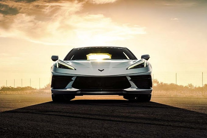 This is the fastest Corvette C8 2020 car in the world so far