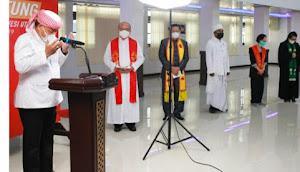 Do'a Lintas Agama Walikota  Bitung Harapkan Perkuat Iman Dan  Pandemi Segera Berakhir