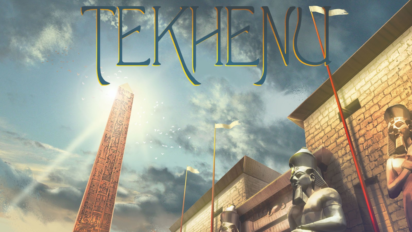 2020 Most Anticipated Games Best Kickstarter Tekhenu Obelisk of the Sun Board Game