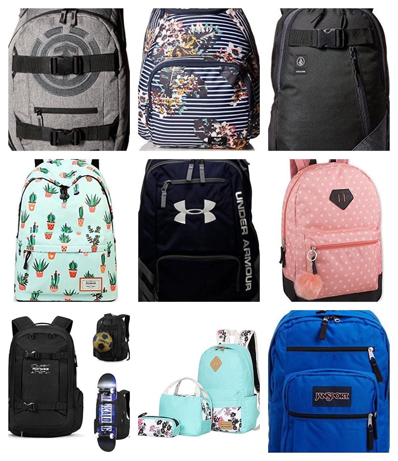 69eea5df40 Friday Finds: Backpacks · Rage Against the Minivan - 10M ago. 1. Element  Unisex Mohave Skateboard School Backpack
