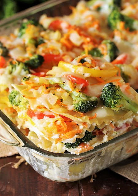 Vegetable Lasagna with Broccoli Image