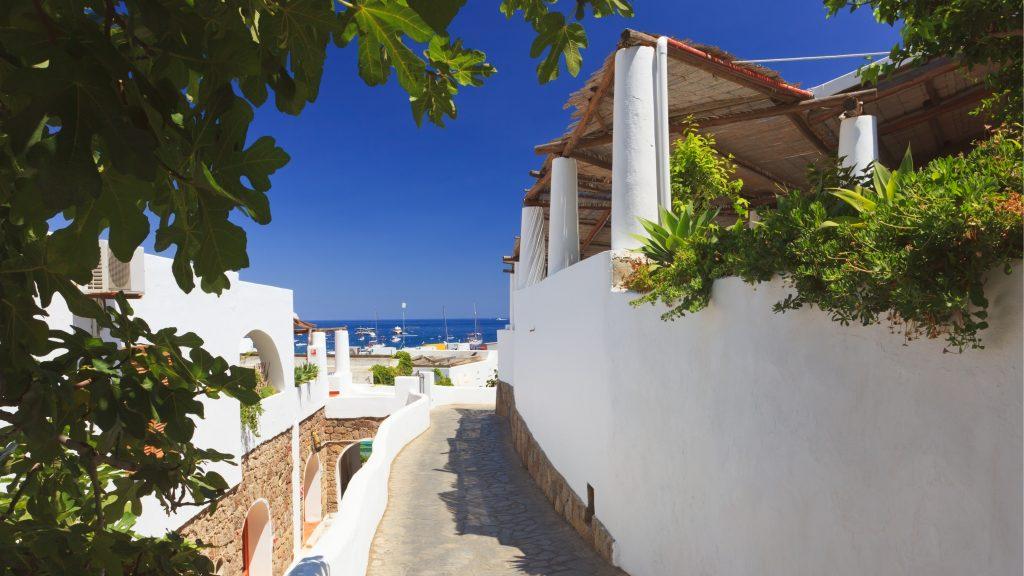 Isola Panarea in Sicilia