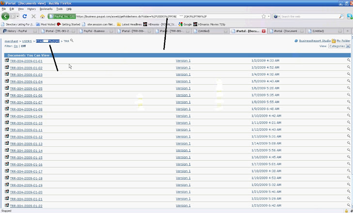 Hacking PayPal accounts to steal user Private data