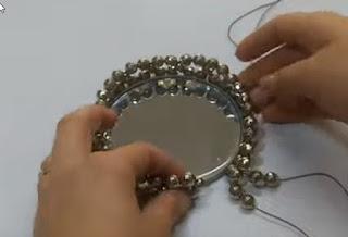 صناعة ديكور صنية من الزجاج - DIY CRAFT