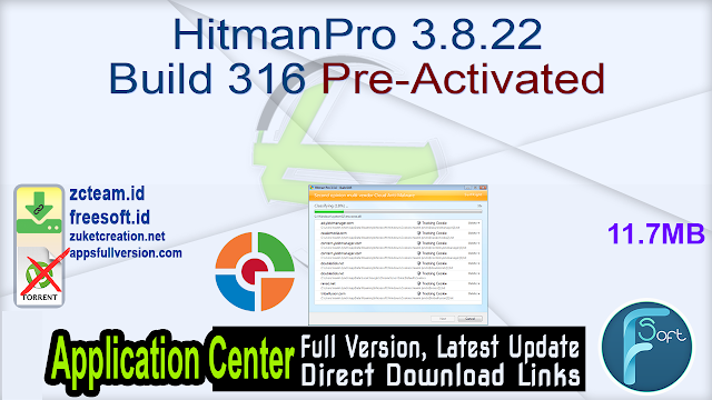 HitmanPro 3.8.22 Build 316 Pre-Activated