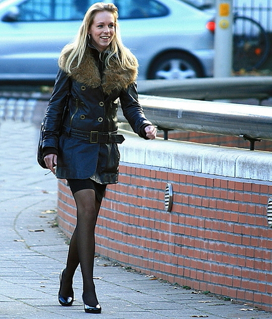 fall, fashion, leather, look, dutch, ootd, outfit, pantyhose, street, coat, streetfashion, streetstyle, style, winter