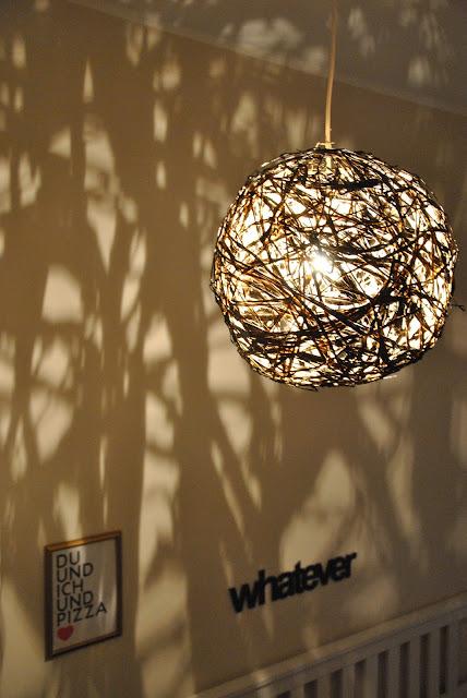 String Lampe DIY