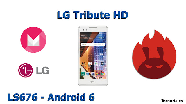 LG Tribute HD - Android 6 - Antutu Benchmark