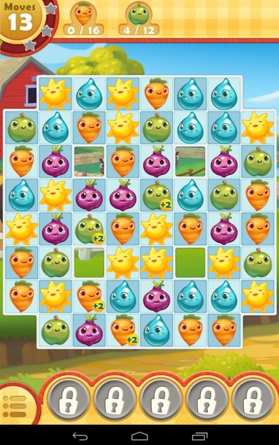 تحميل لعبة farm heroes saga مهكرة