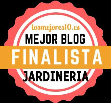 Nominado a mejor blog de jardinería 2021