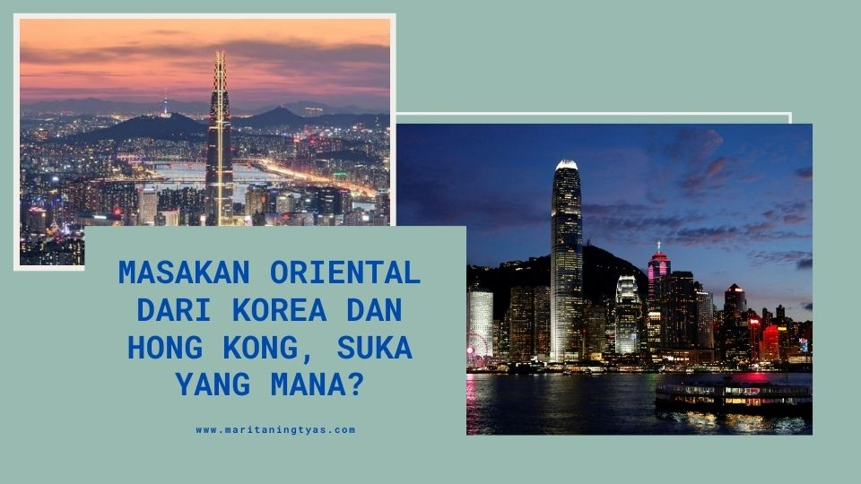 masakan oriental dari korea dan hong kong