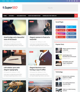 10 Website Penyedia Template Blog SEO Friendly Gratis Terbaru