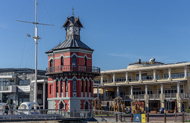 Clock Tower V&A Waterfront Cape Town Photo Copyright Vernon Chalmers