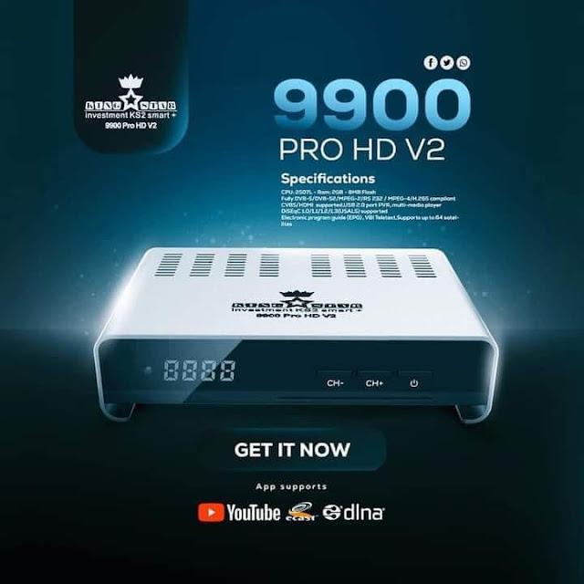 سعر ومواصفات رسيفر كينج ستار KingStar 9900 Pro V2