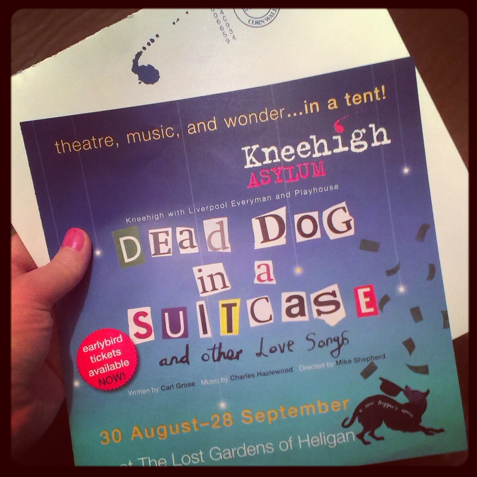 Kneehigh Theatre's new show - Dead Dog in a Suitcase (and other love stories)