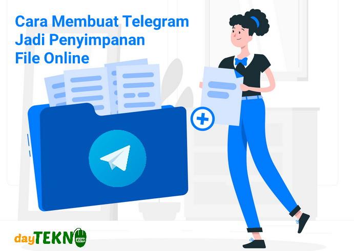 Cara menyimpan file di telegram
