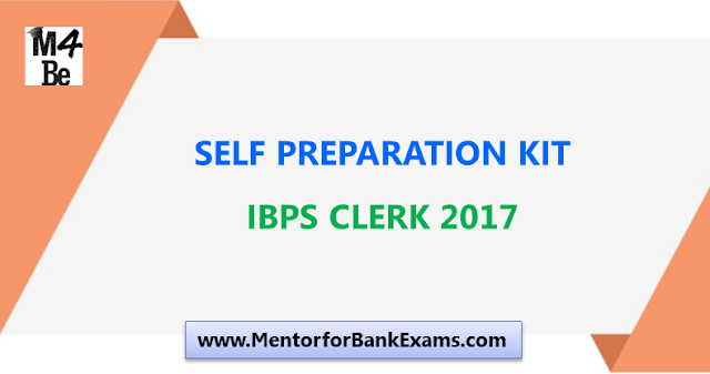 Many of you are preparing for IBPS Clerk  Self Preparation Kit for Bank Exams - Set 9