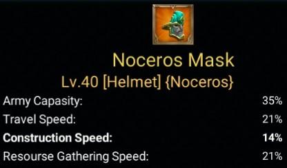 Gear Laju Pembangunan Terbaik - Neceros Mask
