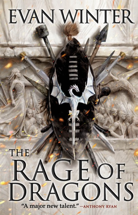 Interview with Evan Winter, author of The Rage of Dragons