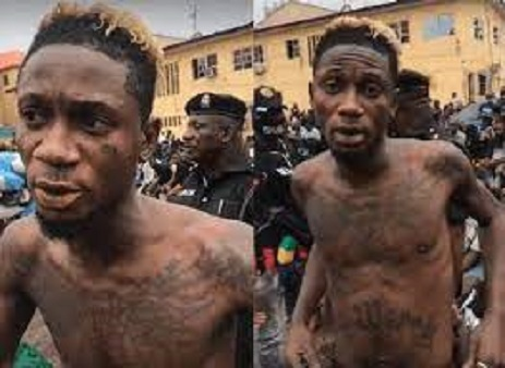 Heavily Tattooed Artiste 'King Of Madness' Threatens To Sue Police N500M
