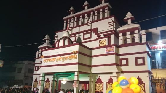 Durga puja pandal of kolkata