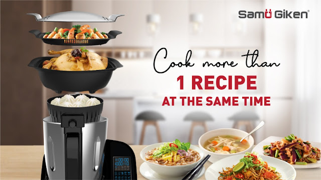 The All-In-One Kitchen Appliance  - Samu Giken P10+ Smart Cooking Processor