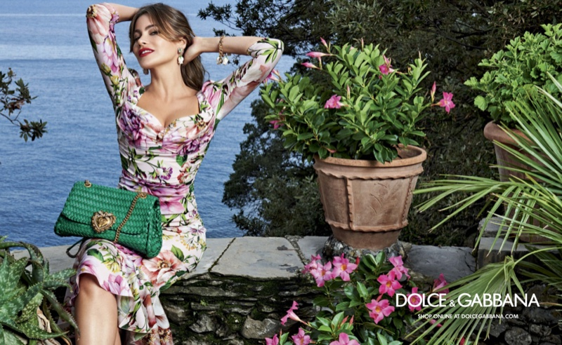 Dolce & Gabbana features Sofia Vergara in Devotion handbag campaign