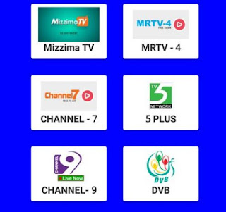 tampilan tv streaming burma apk