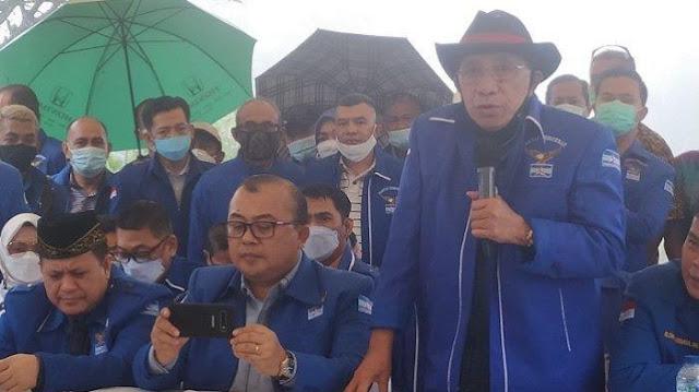 Kubu Moeldoko Mohon-mohon ke Yasonna Segera Sahkan Hasil KLB Deli Serdang