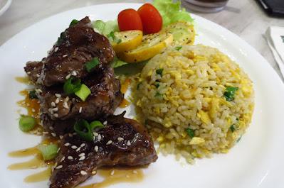 Tsui Wah, fried rice teriyaki tenderloin