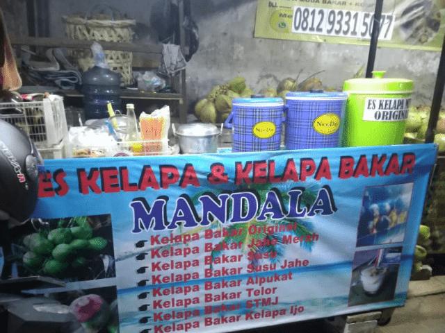 Tempat Kelapa Bakar di Bekasi