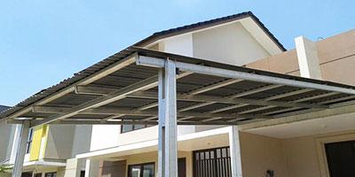 pasang baja ringan di semarang mas aan blog jasa rangka atap kanopi murah