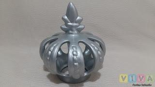 Locação Coroa Cerâmica Prateada Porto Alegre