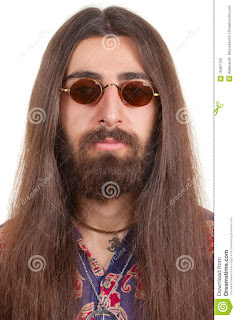 long haired hippie man 19487150