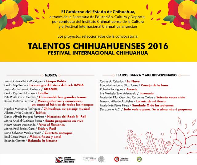 festival internacional chihuahua 2016