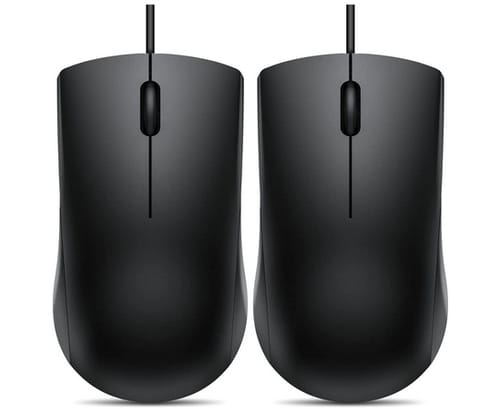Vic Tech FL 3-Button USB Mouse for Right or Left Hand