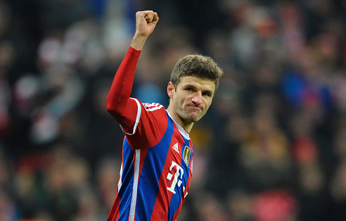 Manchester United bid rejected for Thomas Muller