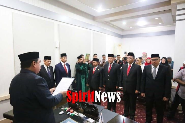 Hidayat Abdul, Sekprov Sulsel Melantik Empat Pejabat Eselon II