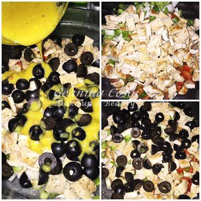Ensalada de alubias blancas con pollo - Receta