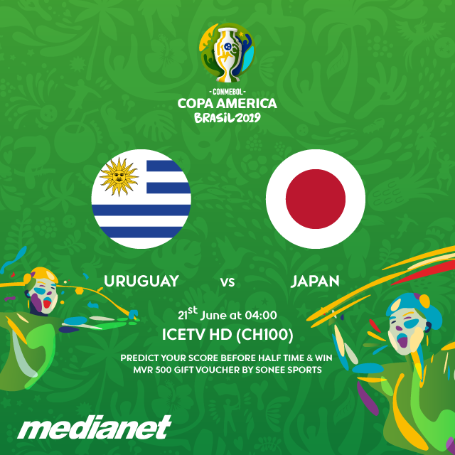 Live Uruguay vs Japan (Copa America) 21.6.2019